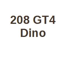 208 GT4 Dino